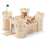 Ritterburg aus Holz von Pintoy